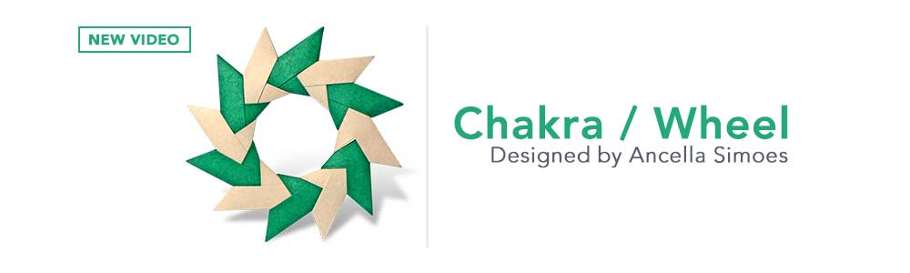 Origami Chakra / Wheel (Ancella Simoes)