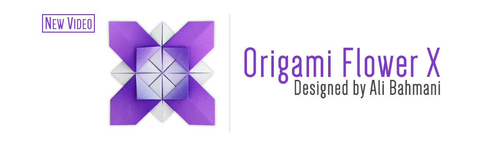 Origami Flower X (Ali Bahmani)