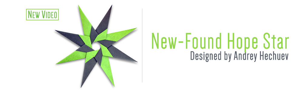 Origami New-Found Hope Star(Andrey Hechuev)