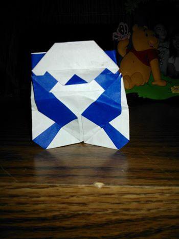 Origami Panda (Roman Diaz) Folded by Aaron Kent Navidad