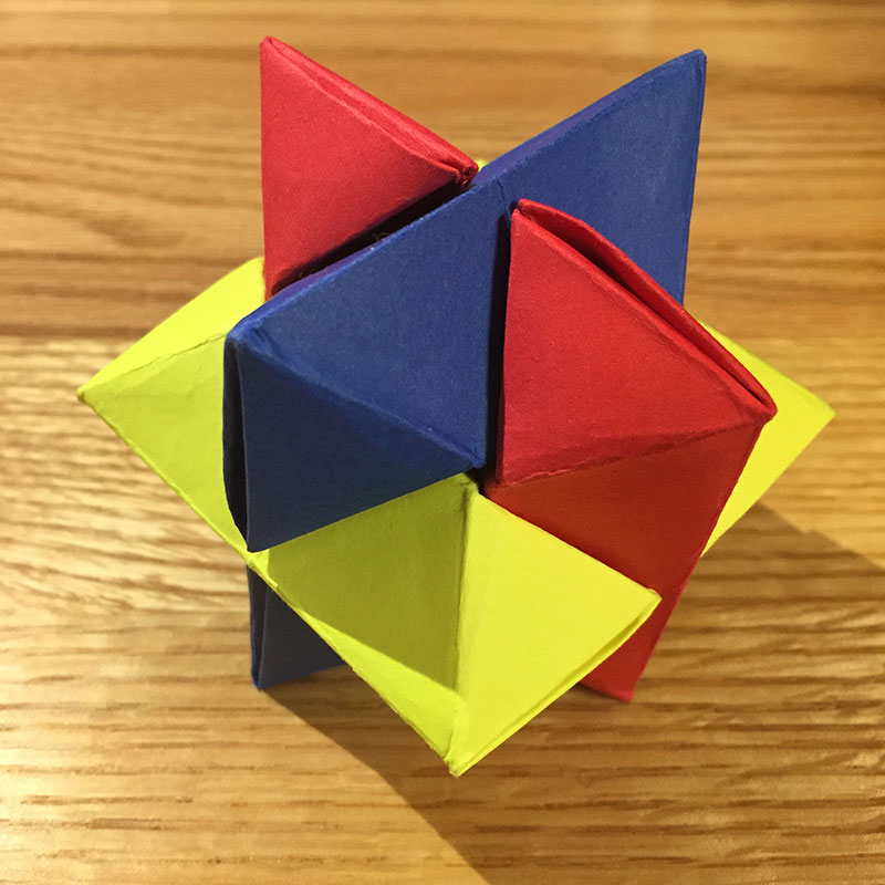 Origami Burr Puzzle Froy Folded By Alice Ez Origami