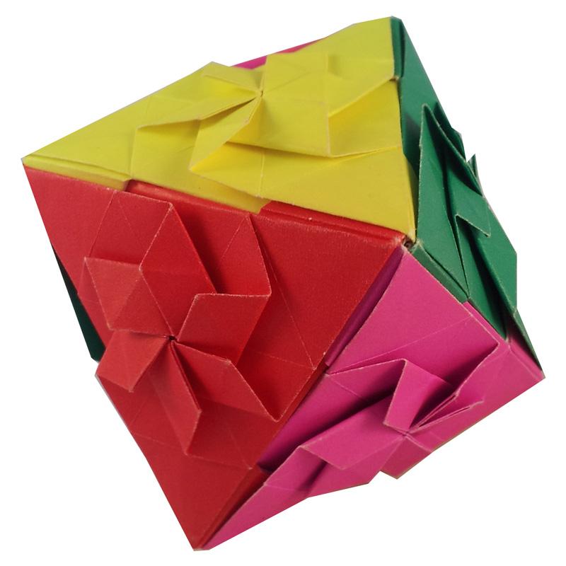 Origami Octahedron by Toshikazu Kawasaki - YouTube   800x800