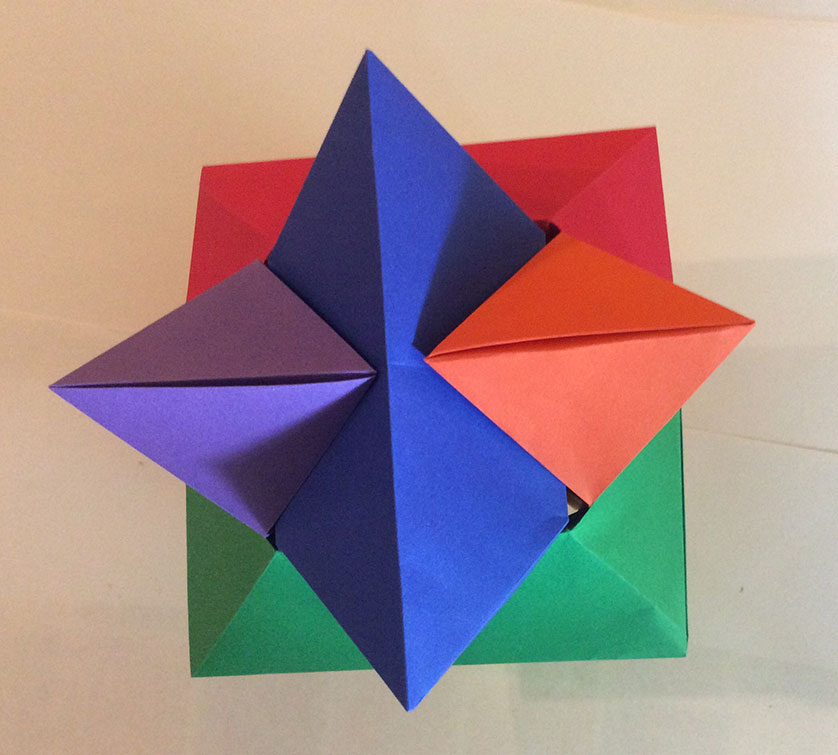 Origami Burr Puzzle – Froy (Folded by Misti Walls) | EZ Origami