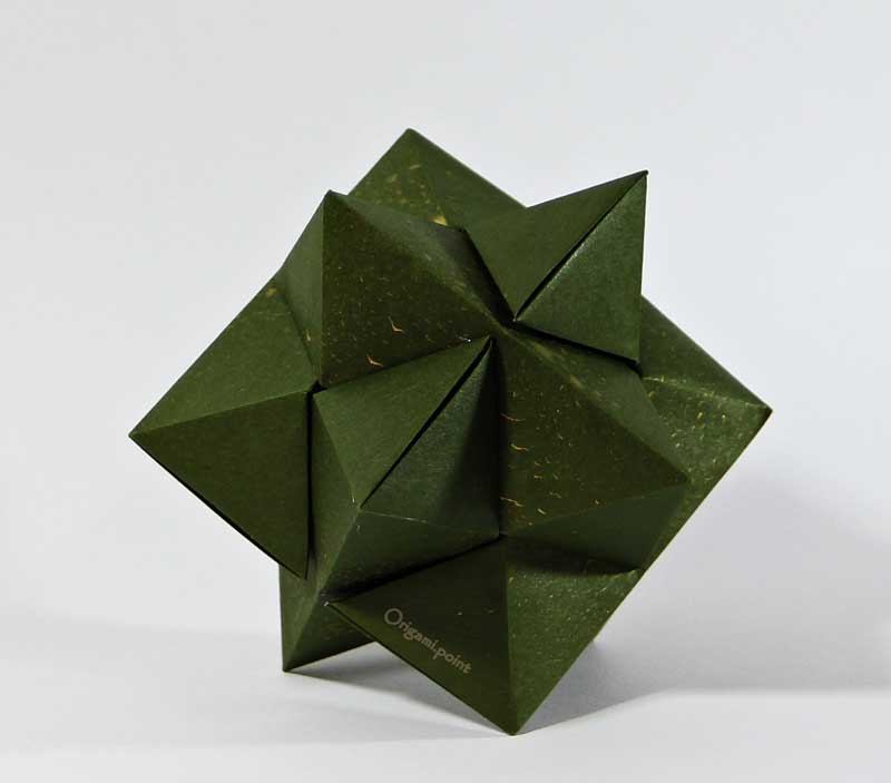 Origami Burr Puzzle Froy Folded By Origamipoint Ez Origami