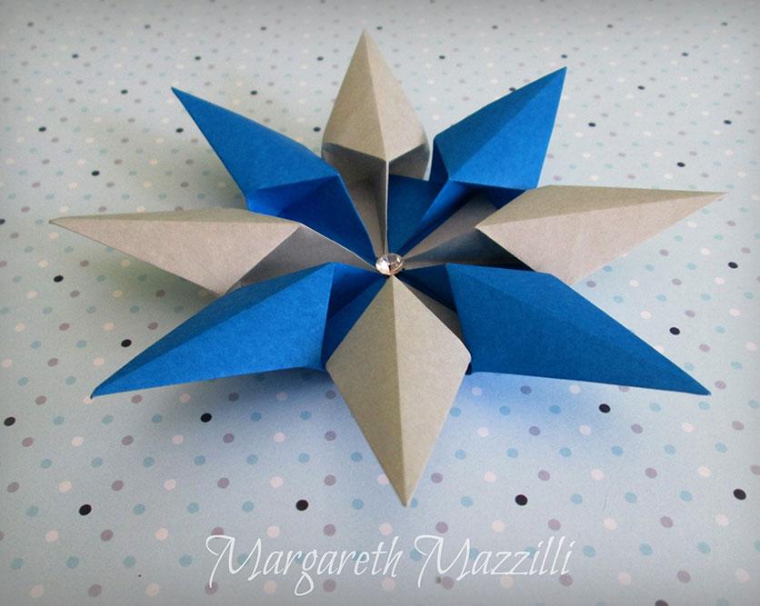 Origami Diamond Star Francesco Guarnieri Folded By Margareth
