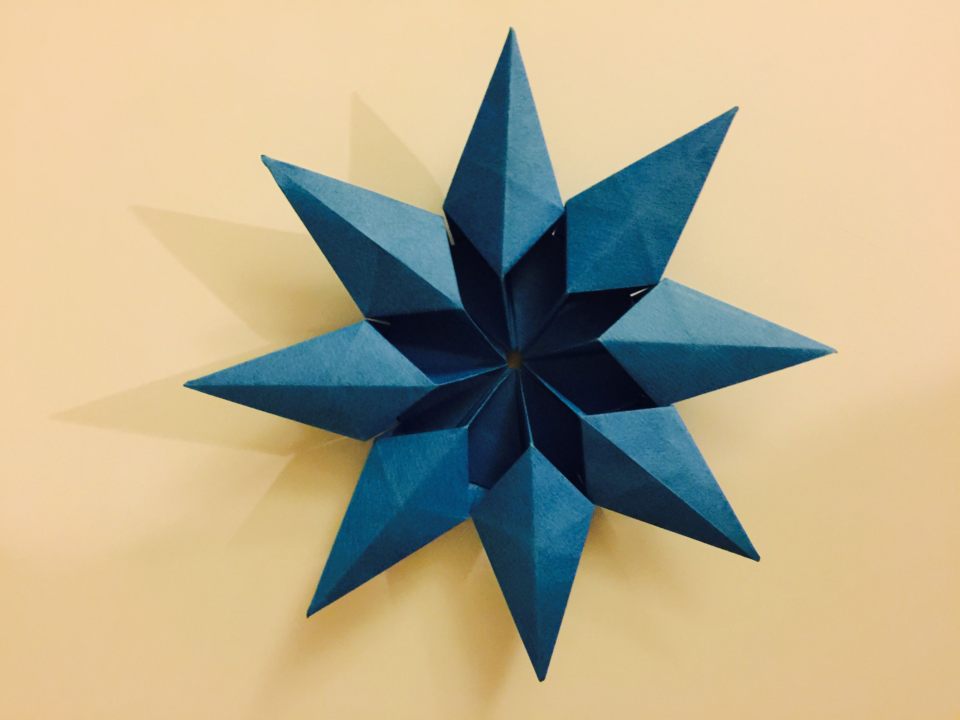 Origami Diamond Star Francesco Guarnieri Folded By Ran Tao