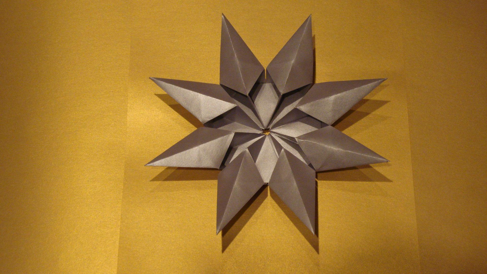 Origami Diamond Star Francesco Guarnieri Folded By Rosemary