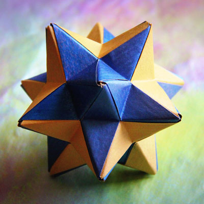 Paper Great Stellated Dodecahedron | 400x400