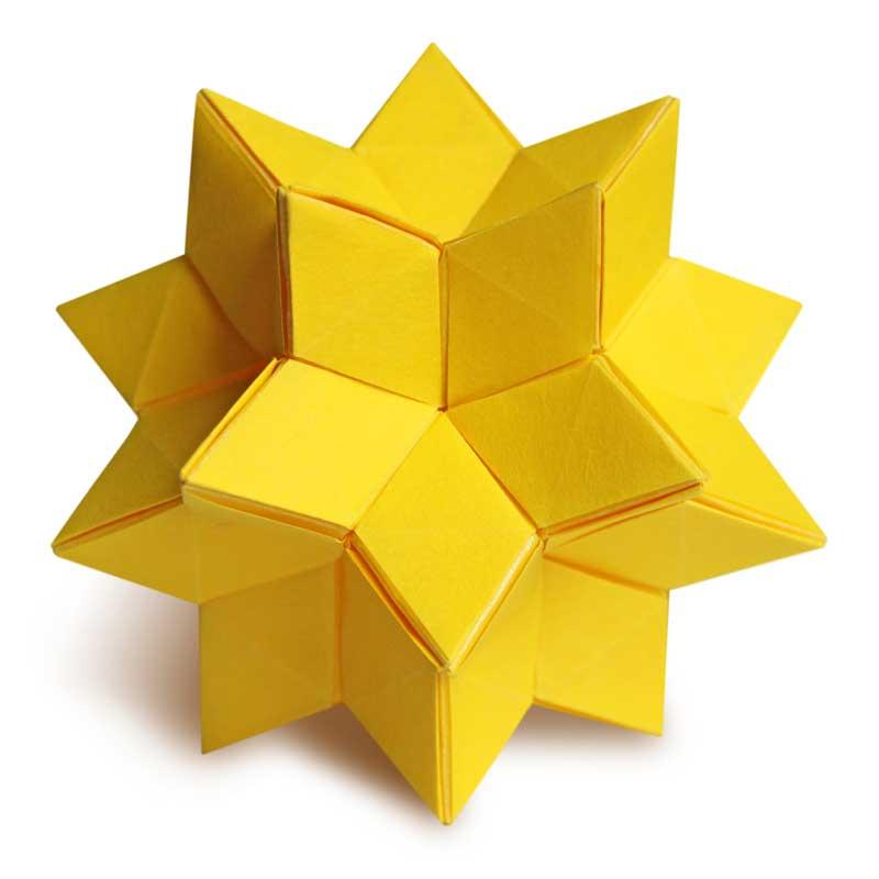 Origami Celestial Kusudama (Joseph Hwang)