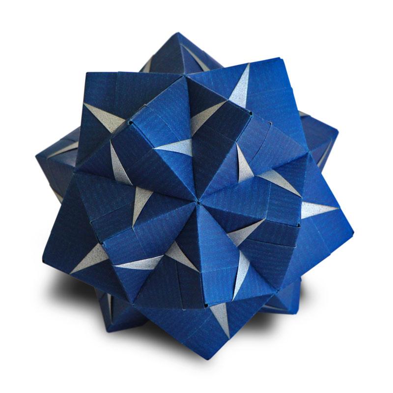 Origami fasett sonobe maria sinayskaya folded by mahesh parbhoo ez origami - Origami origami origami ...