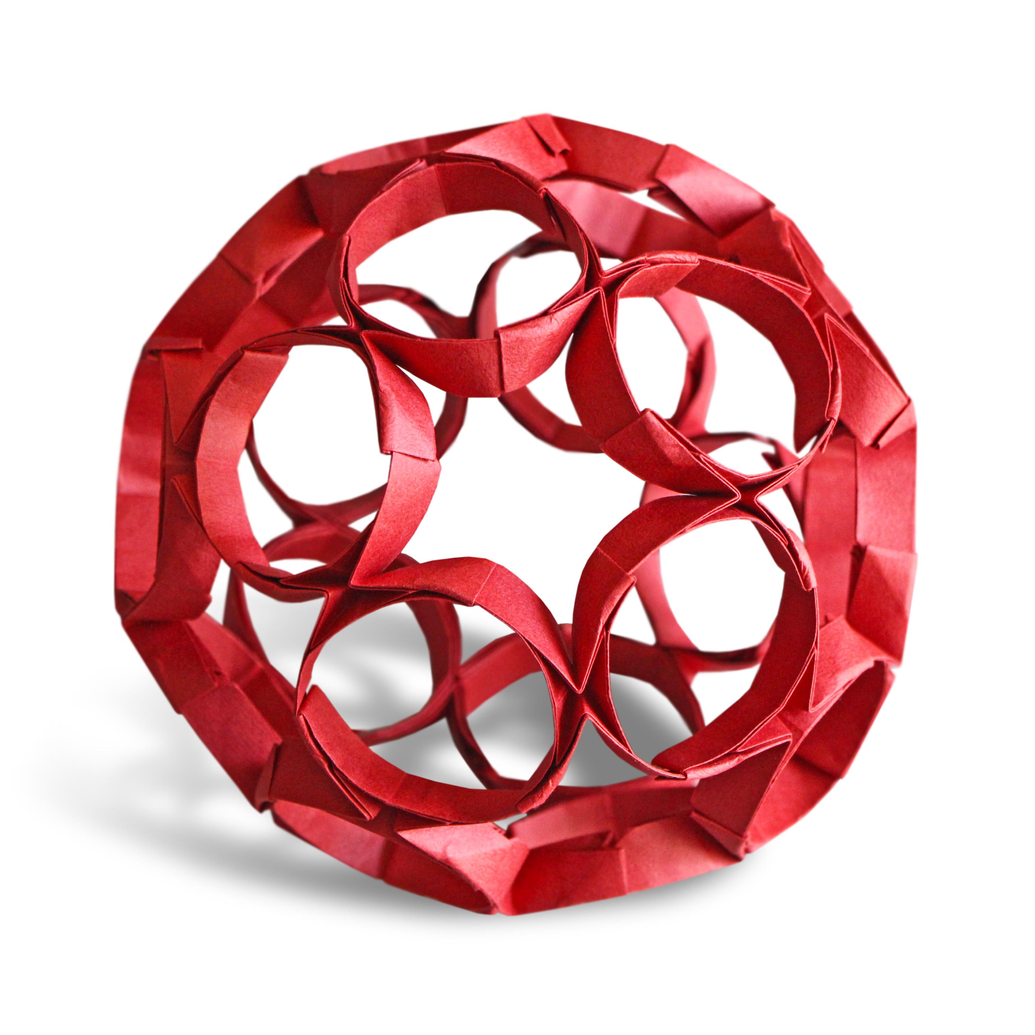 Origami Nexus Kusudama (Joseph Hwang)